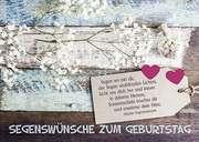 Postkarten: Segenswünsche zum Geburtstag, 12 Stück