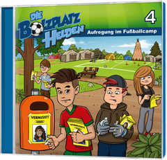 CD: Aufregung im Fußballcamp - Die Bolzplatzhelden (4)