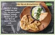 Kräuter-Dip-Postkarte - Das Brot, es gehe