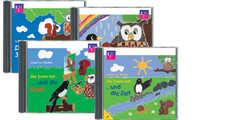 4-CD: Die drei vom Ast Folge 1 bis 4 im Paket
