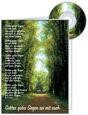 CD-Card: Gottes guter Segen - Hochzeit