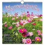 Kalender: Blumengrüße 2017