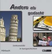 Hörbuch: Anders als gedacht