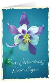 CD-Card: Zum Geburtstag Gottes Segen