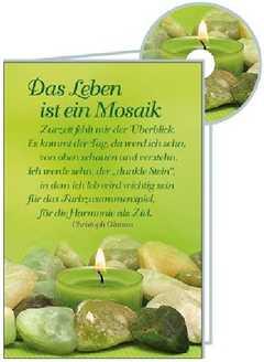 CD-Card: Das Leben ist ein Mosaik - Trauer