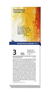 Neukirchener Abreißkalender 2017 - Grossdruck