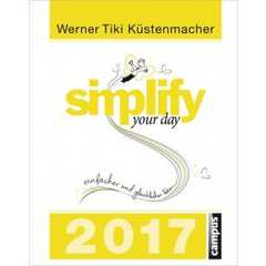 Simplify Your Day 2017 - Abreißkalender