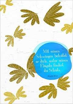 Postkarten: Mit seinen Schwingen - 12 Stück