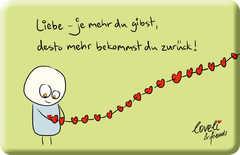 Liebe - Magnet