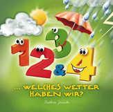 1, 2, 3 und 4, welches Wetter haben wir